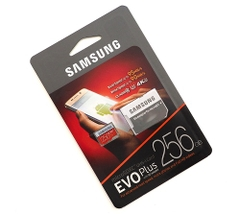 Thẻ nhớ micro SD samsung Evo plus 256GB SDXC100Mb/s 4k (new version)