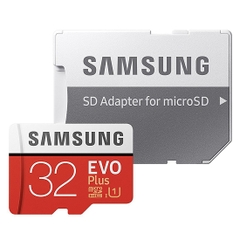 Thẻ nhớ micro SD samsung Evo plus 32GB 95MB/s 4k video (new version)