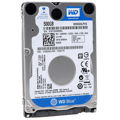 Ổ cứng HDD laptop Western Digital 500GB/5400