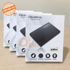 Ổ Cứng SSD Colorful 640GB