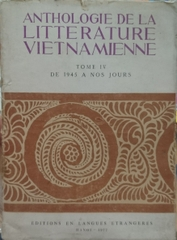Anthologie De La Litterature Vienamienne Tome IV