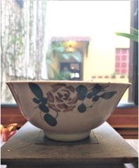 Bao Cap Bowl 300 by Northern Pottery - Bookworm Hanoi