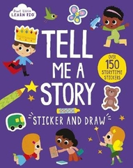 Tell Me a Story Sticker & Draw
