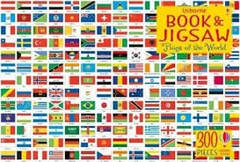 Book & Jigsaw Flags of the World