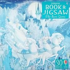 Book & Jigsaw the Snow Queen