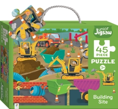 Building Site Junior Jigsaw 45 Piece Puzzle