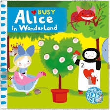 Busy Alice In Wonderland