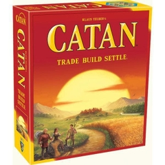 Klaus Teuber's Catan Trade Build Settle