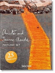 Christo and Jeanne Claude Postcard Set