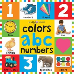 Colors ABC Numbers