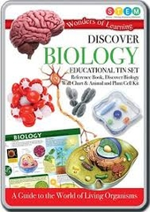 Discover Biology Educational Tin Set