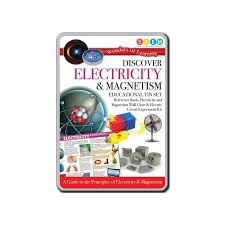 Discover Electricity & Magnetism Educational Tin Set