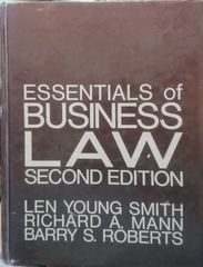 Essentials of Business Law Second Edition