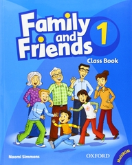 Family and Friends  Class Book 1