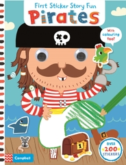 First Sticker Story Fun Pirates