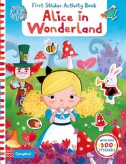 First Sticker Activity Book Alice in Wonderland