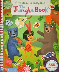 First Sticker Activity Book the Jungle Book