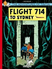 The Adventures of TinTin Flight 714 To Sydney