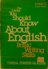 The Least You Should Know About English Basic Writing Skills