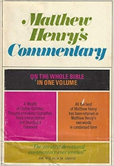 Matthew Henry's Commentary On the Whole Bible In One Volume