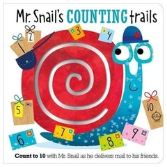 Mr Snail's Counting Trails