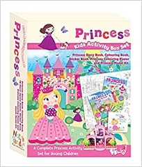 Princess Kids Activity Box Set