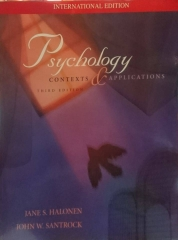 Psychology Contexts and Applications