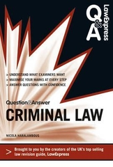Question & Answer Criminal Law