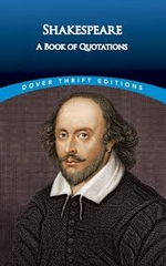 Shakespeare A Book of Quotations