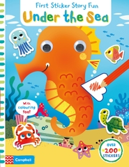 Sticker Story Fun Under the Sea First