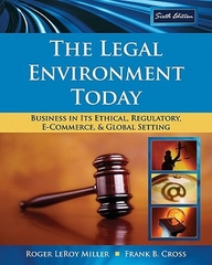The Legal Enviroment Today