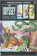 The Odyssey Usborne Graphic Legends