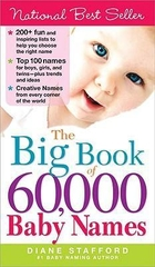 The Big Book Of 60000 Baby Names