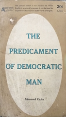 The Predicament Of Democratic Man