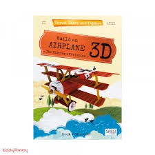 Travel Learn and Explore Buil an Airplane 3D