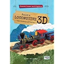 Travel Learn and Explore Build a Locomotive 3D