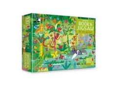 Usborne Book and Jigsaw in the Jungle