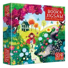 Usborne Book & Jigsaw Little Red Riding Hood