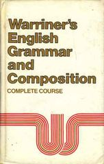 Warriners English Grammar and Composition Complete Course