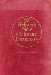 Webster's New Collegiate Dictionary by Merriam Wester - Bookworm Hanoi