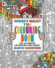 Where's Wally the Colouring Book