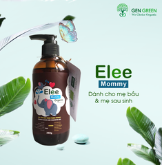Mommy Wash And Shampoo Gel - Gel tắm gội toàn thân Organic Elee Mommy 250g