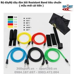 Bộ 5 dây đàn hồi resistance band