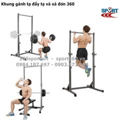 Xà đơn đa năng Iron Gym,xà đơn CHIN BAR,xà đơn xếp,xà đơn treo tường rẻ nhất
