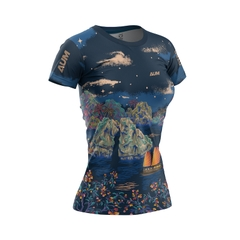 Swim Bike Run Ha Long - Women Tshirt