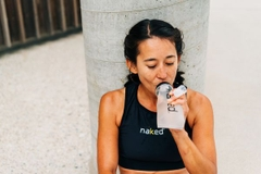 Naked® Running Flask - 350 mL. Nắp Lớn