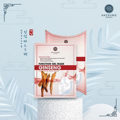 Function Gel Mask Ginseng - Mặt Nạ Hồng Sâm