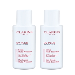 Kem chống nắng Clarins UV Plus Anti-Pollution Day Screen Rosy Glow SPF50 PA++++ 50ml