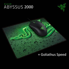Chuột Razer Abyssus 2000 and Goliathus Speed Terra Mouse Mat Bundle - RZ83-02020100-B3M1