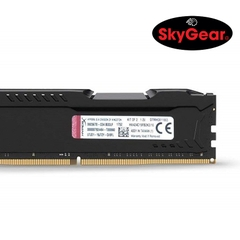 Kingston 16GB 2666MHz DDR4 CL15 DIMM  (Kit of 2) HyperX FURY Black - HX426C15FB2K2/16